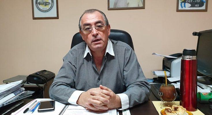 José María Bocalatte, gremialista de SIPETAX